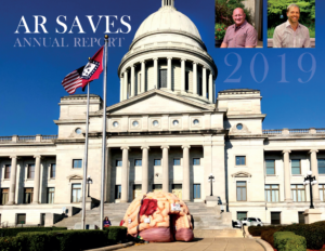 Cover of the 2019 AR SAVES Annual Report